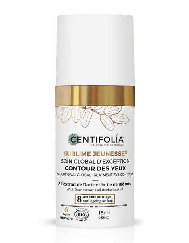 Soin Global d'Exception Contour des Yeux bio, Centifolia, 15 ml