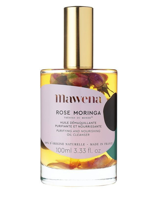 Huile démaquillante Rose Moringa, Mawena