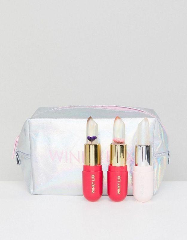 Lot de 3 baumes à lèvres, Winky Lux