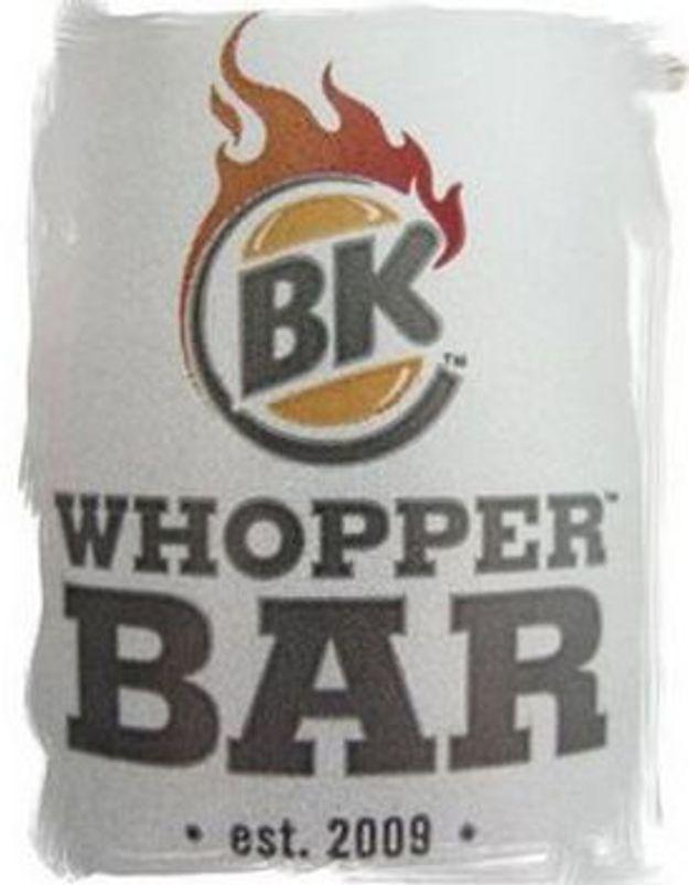 """Bretzel et café crème : """"Testé pour vous, le premier WHOPPER Bar européen"""""""