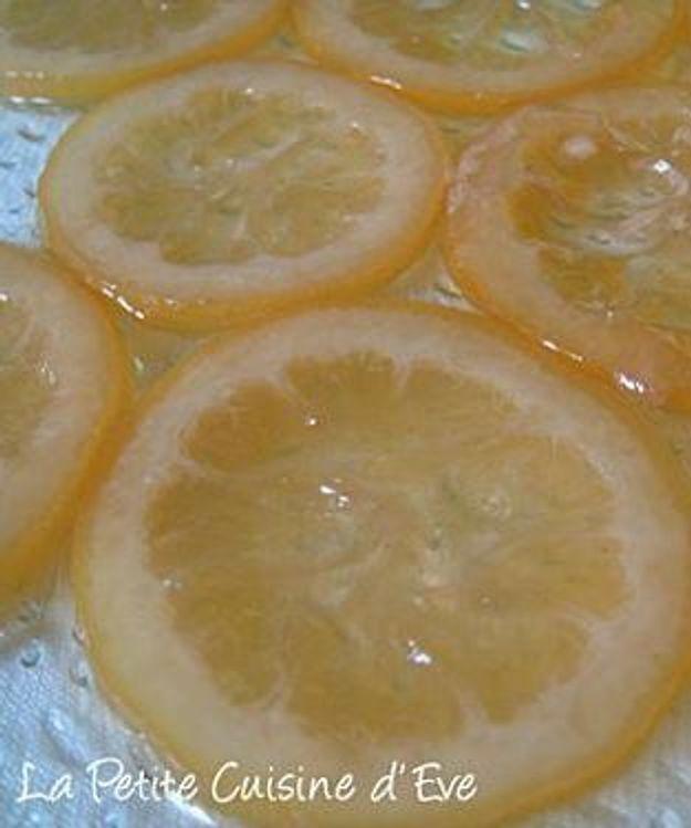 """La Petite Cuisine d'Eve : """"Citrons sucrés confits"""""""