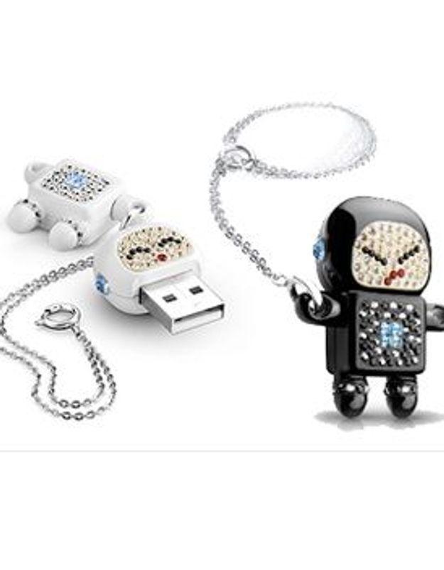 """Marieluvpink : """"Des clés USB nouvelle génération, vraiment canons"""""""