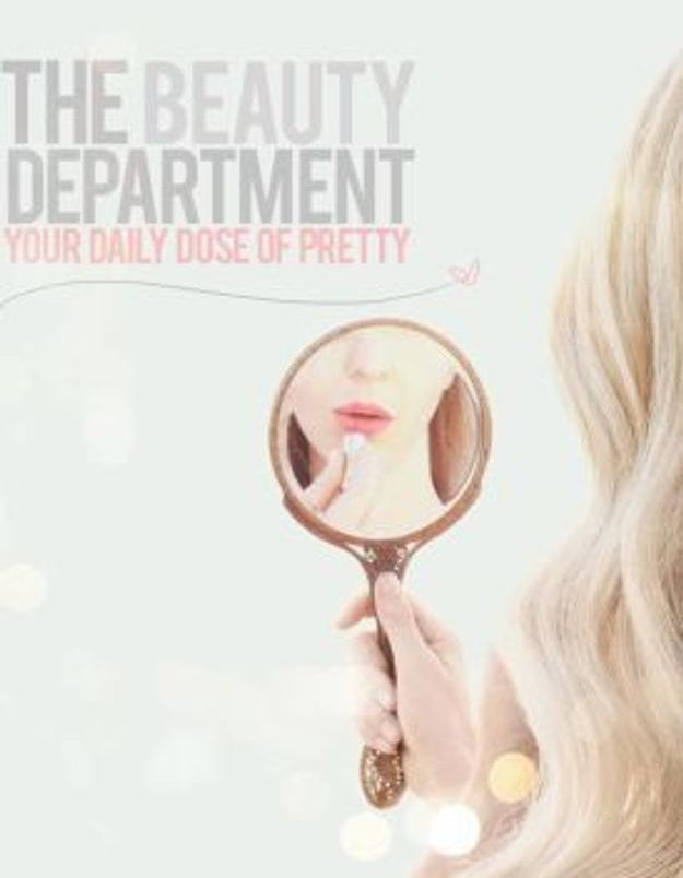 « The Beauty Department », a daily dose of pretty