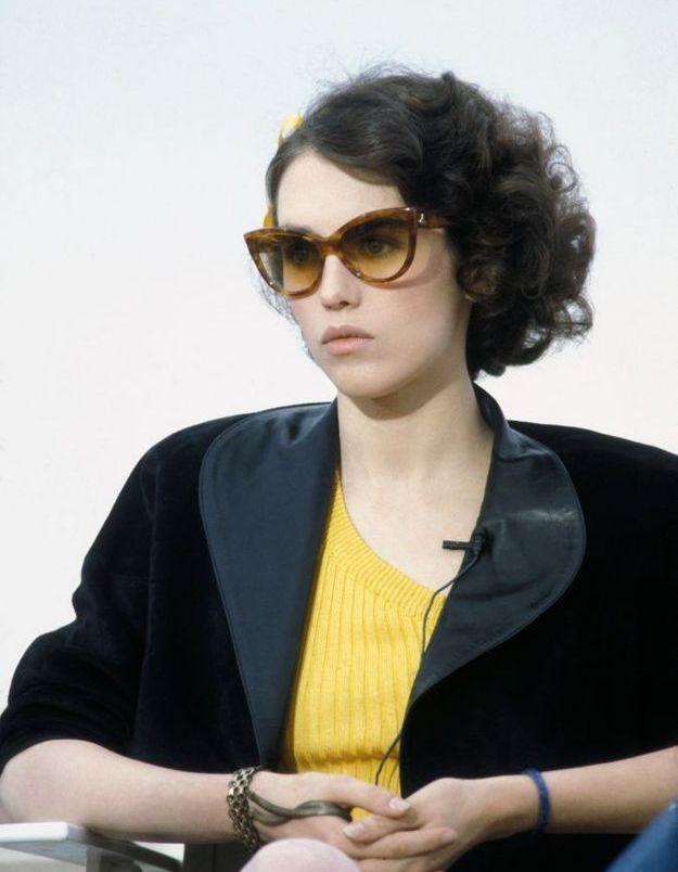 Isabelle Adjani à Cannes en 1983