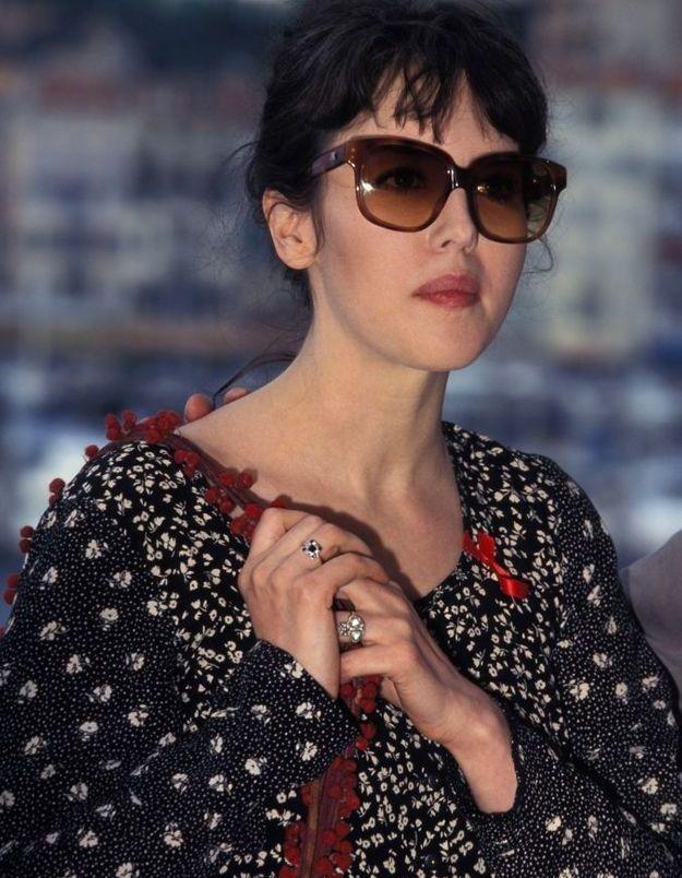 Isabelle Adjani à Cannes en 1994, pour la présentation de La Reine Marhot