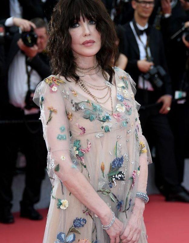 Isabelle Adjani en 2018 au 71e Festival de Cannes