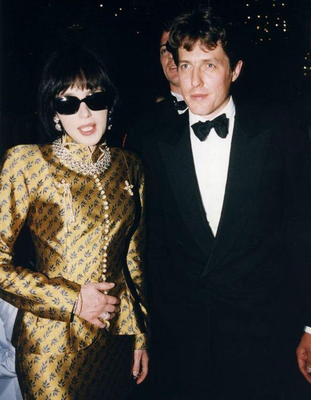 Isabelle Adjani et Hugh Grant à la soirée Cartier en 1997