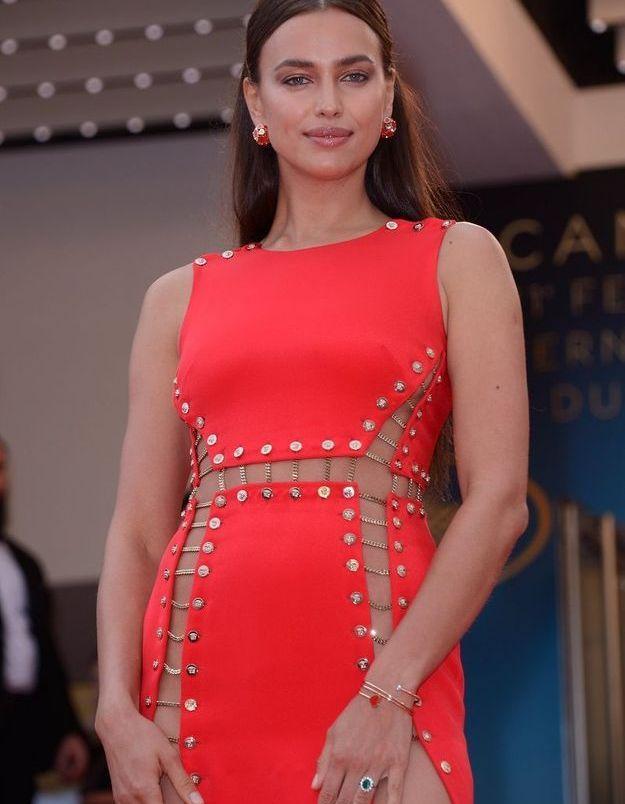 La robe d'Irina Shayk, très révélatrice...