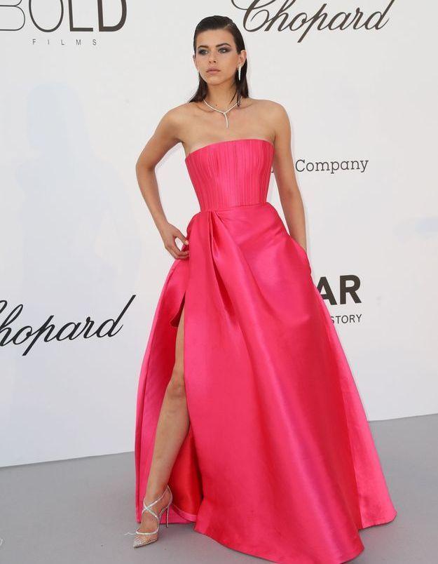 La robe fuschia de Georgia Fowler