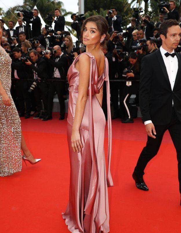 la robe rose de Daniela Lopez