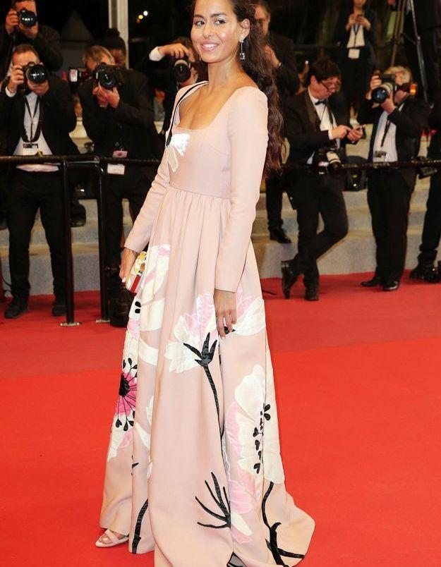 la robe rose fleurie de Maria Thelma Smaradottir
