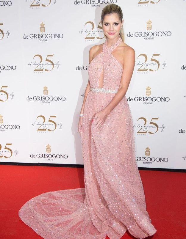 La robe scintillante de Lala Rudge