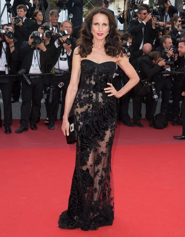 Le look du jour : Andie MacDowell, forever young !