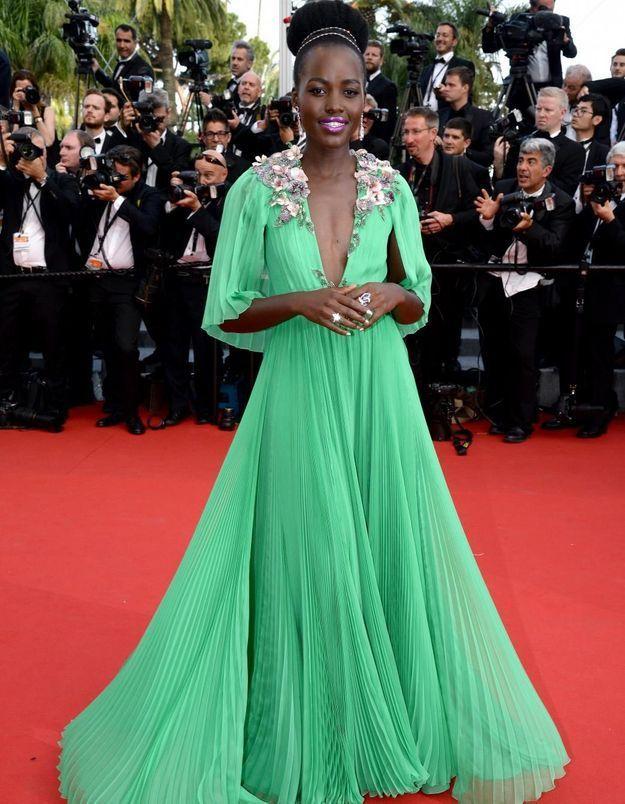Le look du jour de Cannes : Lupita Nyong'o en Gucci