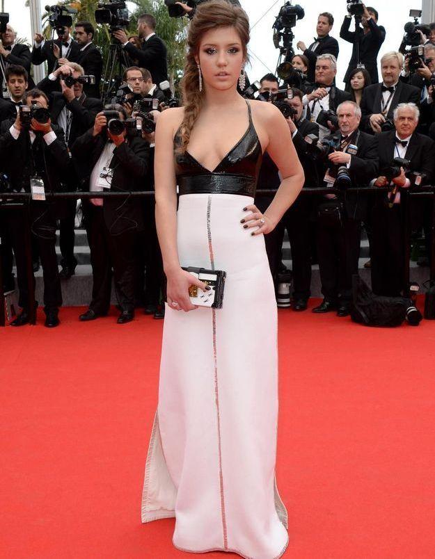 Look du jour de Cannes: Adèle Exarchopoulos en Louis Vuitton