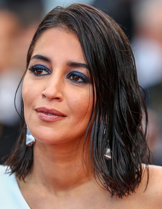 Le regard bleu irisé de Leïla Bekhti à Cannes