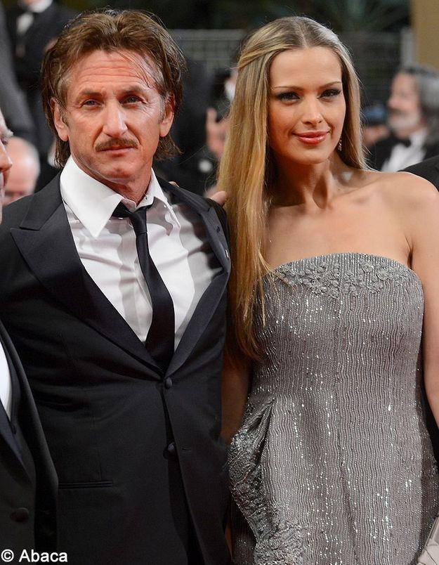 Cannes 2012 : Sean Penn affiche son amour pour Petra Nemcova