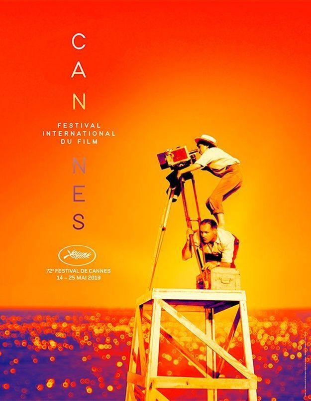 Cannes 2019 : découvrez l'affiche du festival en hommage à Agnès Varda