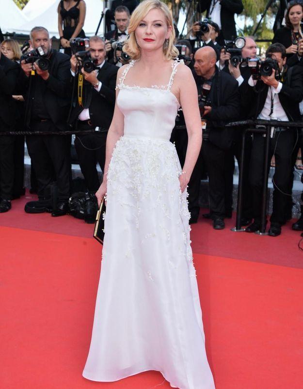 Le look du jour de Cannes : Kirsten Dunst en Dior Haute Couture