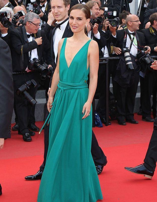 Le look du jour de Cannes : Natalie Portman en Lanvin