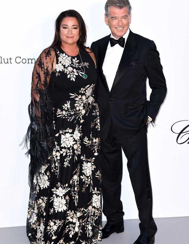 Pierce Brosnan et Keely Shaye Smith