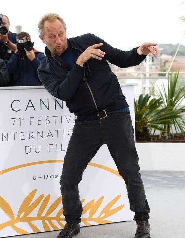 Benoît Poelvoorde le roi des grimaces