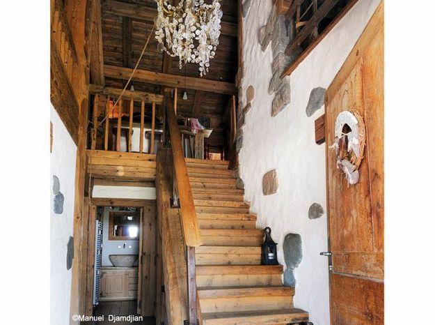 Escalier caheletlaclusaz