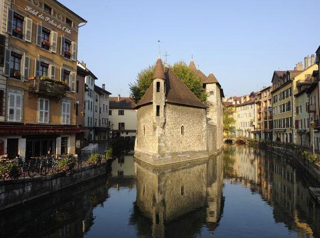 Annecy, un petit air d'Italie