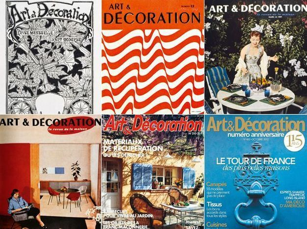 Connaissez Vous Lhistoire Du Magazine Artdécoration Elle Décoration