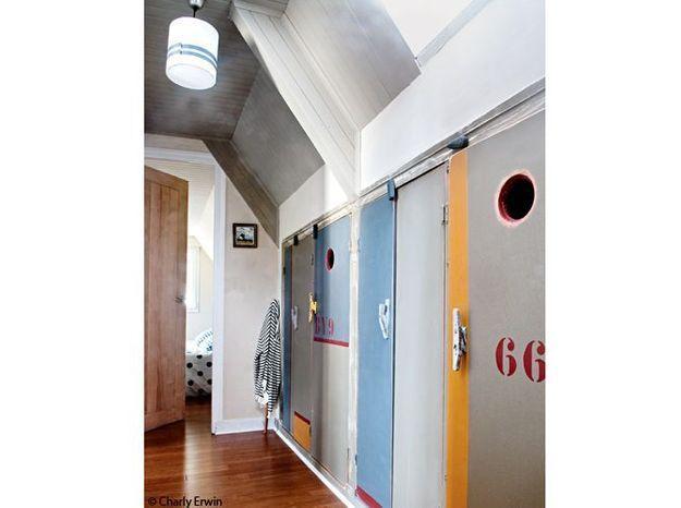 Couloir chambre bretagne