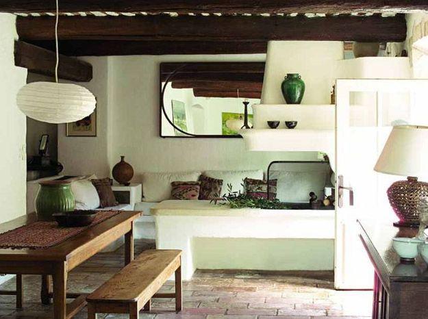 Déco zen dans une maison provençale