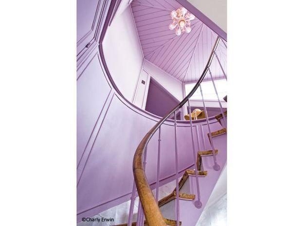 Maison fille escalier