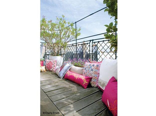 Maison fille terrasse