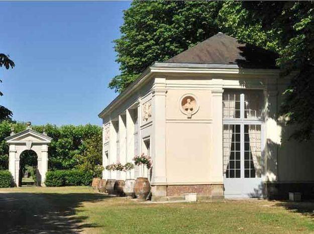 La restauration du château de Groussay