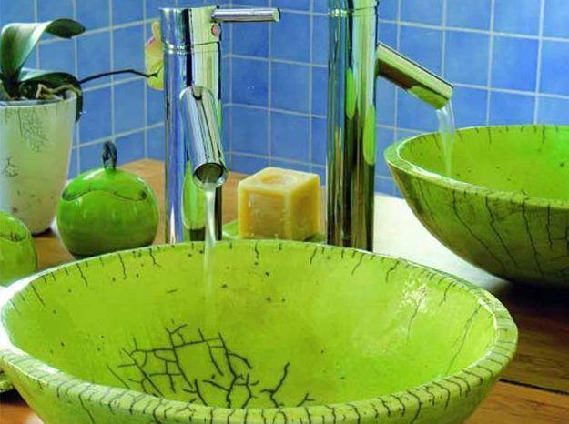 Des vasques dans vos salles de bain!! - Elle Décoration