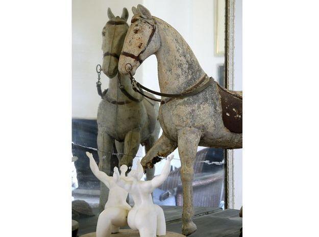 Le cheval de manège