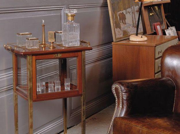 Le minibar à brandy