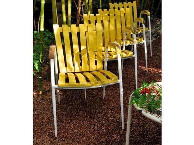 Les chaises de jardin