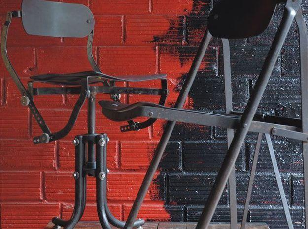 Les chaises industrielles