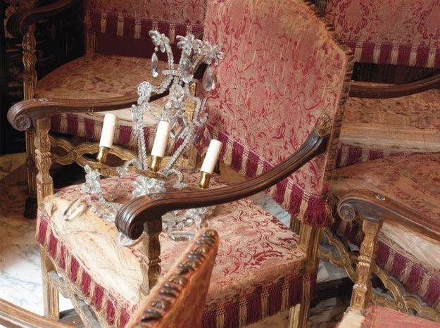 Les fauteuils de palais