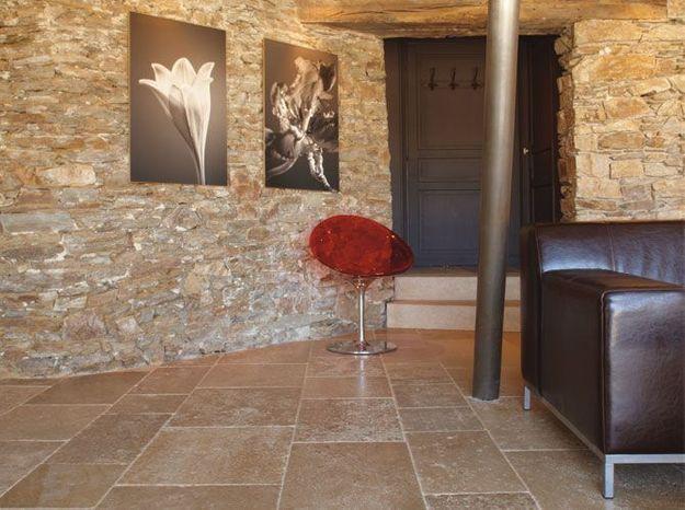 Les pierres dans la maison