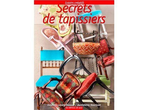 Livre déco : les secrets des tapissiers