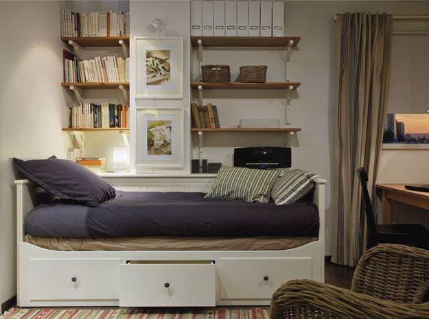 rangements solutions gain de place elle d coration. Black Bedroom Furniture Sets. Home Design Ideas