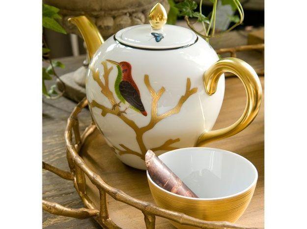 Recevoir à l'heure du thé