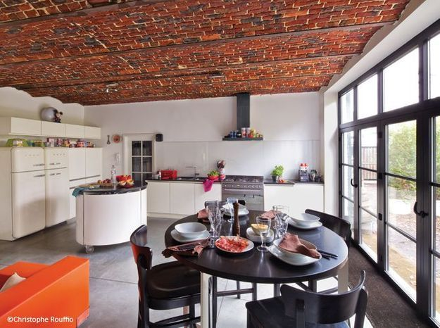 Renovation grange cuisine