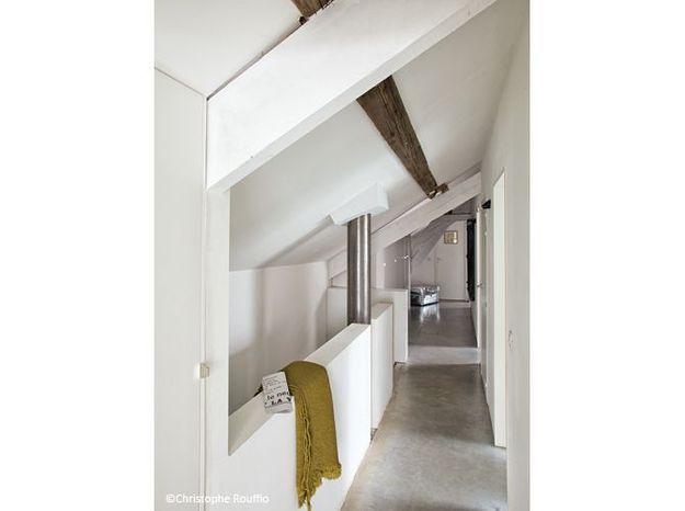 Renovation grange couloir