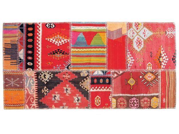 Tapis patchwork kilim deco