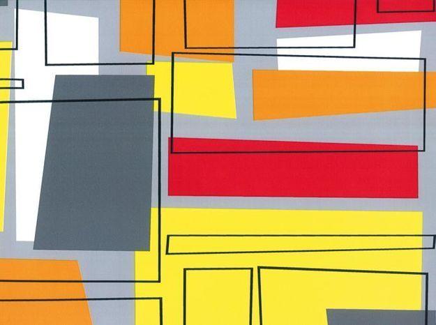 Papier peint coloré