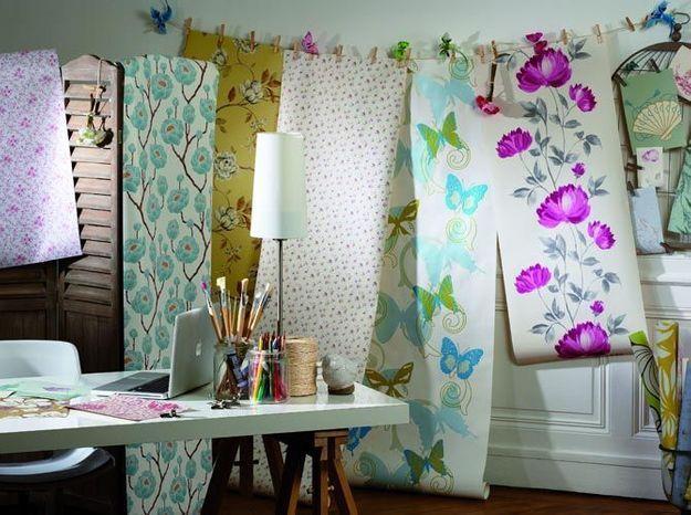 une boutique en ligne de papier peint elle d coration. Black Bedroom Furniture Sets. Home Design Ideas