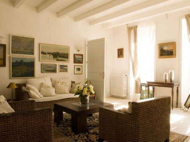 Une maison de maître romantique à souhait